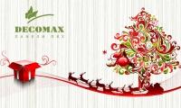 Decomax поздравляет всех с Новым Годом и Рождеством Христовым