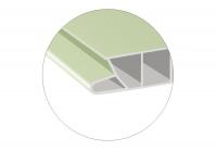 Ламинированные ПВХ панели Decomax – с новой формой замка